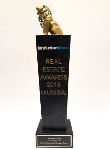 Awarded Ultimate Residential Project of the year - HT Real Estate Award 2018